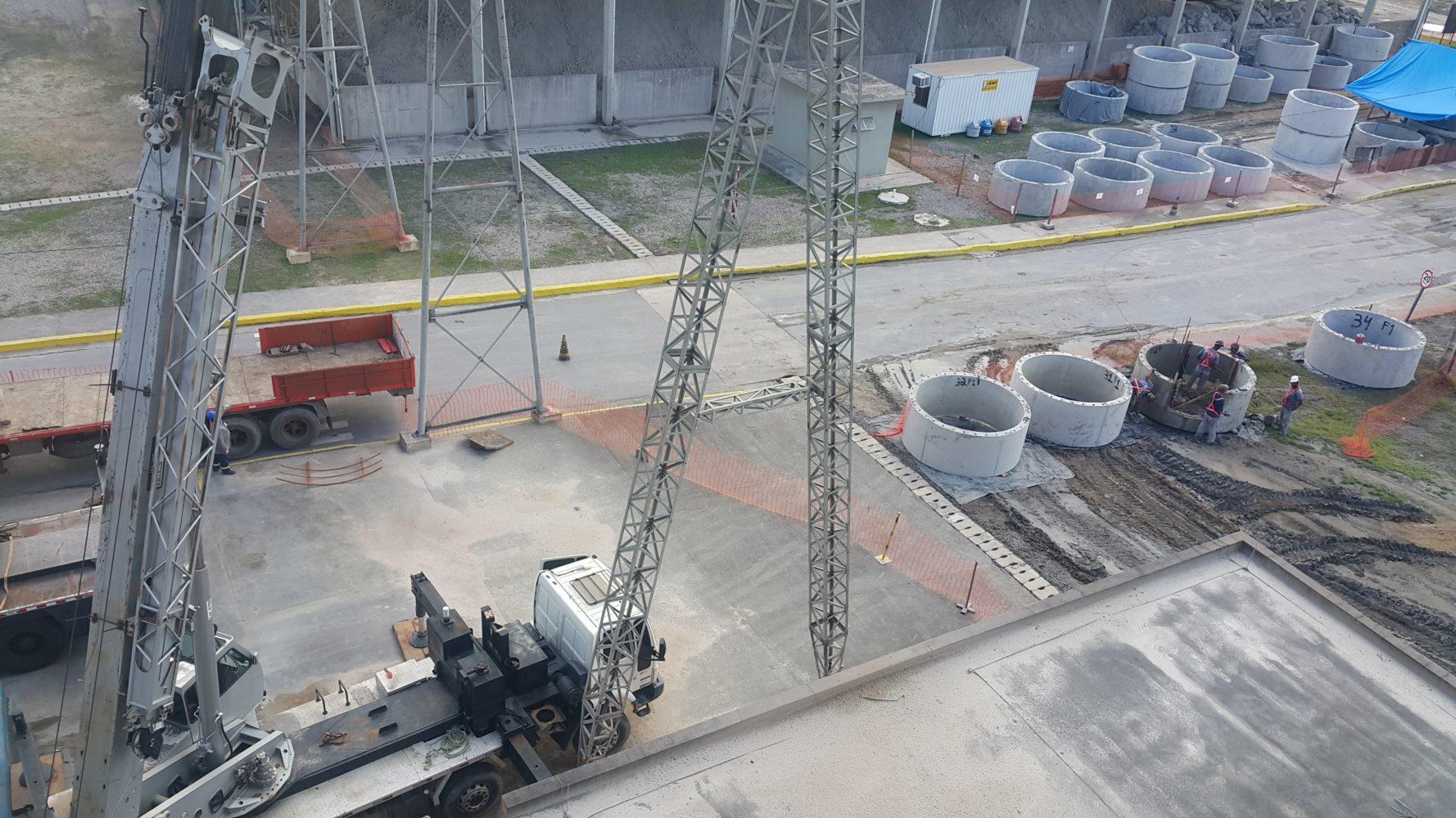 pré moldados e pré fabricados de concreto