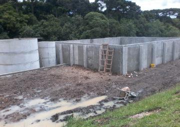 Muros de arrimo e contenções pré moldado